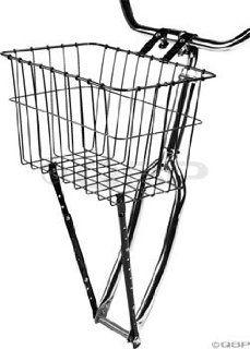 Wald 198 Front Bicycle Basket (14.5 x 9.5 x 9, Black
