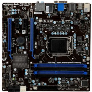 MSI Z68MA G45 (B3) Desktop Motherboard   Intel   Socket H2 LGA 1155