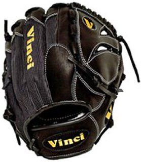 Vinci 11.5 Infield Solid Web Baseball Glove BLACK LEFT
