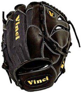 Vinci 11.5 Infield Solid Web Baseball Glove BLACK LEFT