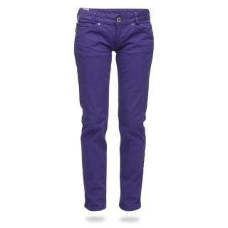 55DSL By DIESEL Pantalon Piupadilla Femme Violet   Achat / Vente