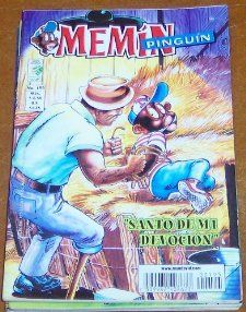 Memin Pinguin Comic Book in Spanish No. 195 Santo De Mi Devocion