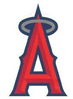 Anaheim Angels MLB Team Logo Patch (Red with Halo) Sports