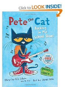 Pete the Cat Rocking in My School Shoes James Dean, Eric Litwin