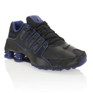 NIKE Baskets Shox NZ Homme Noir et violet   Achat / Vente BASKET MODE