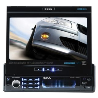 Boss BV9999BI Car DVD Player   7 LCD   68 W   Single DIN