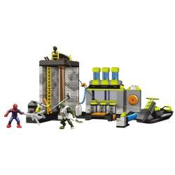 Mega Brands Amazing Spider Man Sewer Lab Headquarters Playset