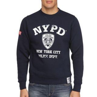 NYPD Sweat Homme Marine   Achat / Vente SWEATSHIRT NYPD Sweat Homme
