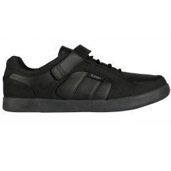 Lugz Mens Slice Black Permahide Sneakers