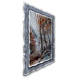 Pol Ledent Climbing The Hill Metal Wall Art