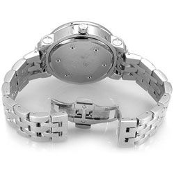 Freeze Diamond Mens Stainless Steel Watch