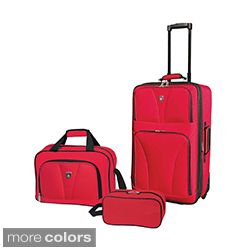 Travelers Club Bowman Collection 3 piece Travelers Carry on Luggage