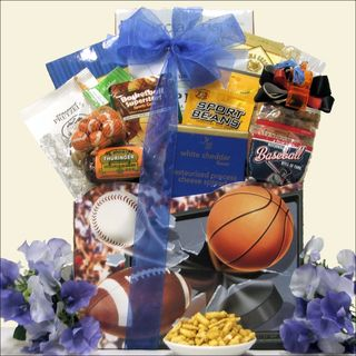 Armchair Athlete Gourmet Sports & Snack Gift Basket