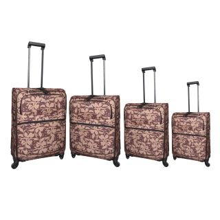 Hercules Bay Creek 4 piece Spinner Luggage Set Today $129.99