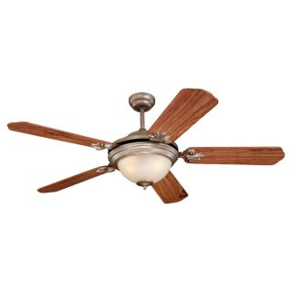 Sea Gull Lighting 52 inch Highlands 5 Blade 3 light Ceiling Fan Today