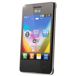 LG T385 Wi Fi Noir   Achat / Vente TELEPHONE PORTABLE LG T385 Wi Fi