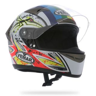 VEMAR Casque Integral STORM ANGELIS REPLICA SF05   Achat / Vente