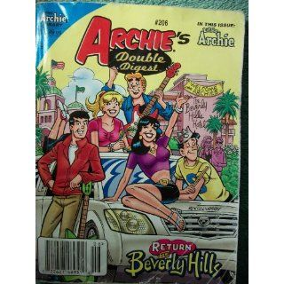 Archies Double Digest # 206 Return To Beverly Hills