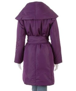 House of Dereon by Beyonce Oversize Shawl Collar Coat