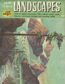 Learn to Draw Landscapes with Jon Gnagy Jon Gnagy Books