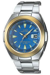 Casio Mens VQ201HSGA 2AV Waveceptor Atomic Watch Watches