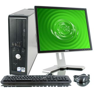 Dell Optiplex 755 2.3GHz 80GB Desktop Computer with 17 inch Dell LCD