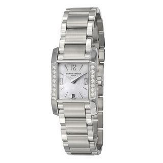 Baume & Mercier Womens Diamant Stainless Steel Quartz Watch