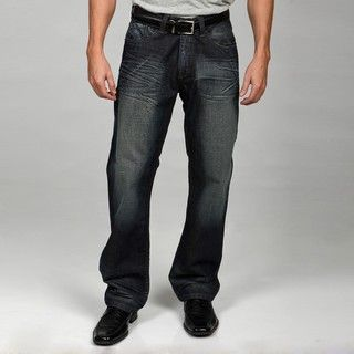 Syn Jeans Mens Straight Leg Denim Jeans
