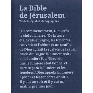 LA BIBLE DE JERUSALEM ILLUSTREE   Achat / Vente livre pas cher