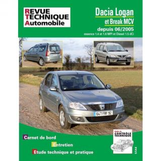 SCIENCES   MEDECINE Rta b727.5 Dacia Logan + mcv ; 09/07 ess 1.4/1.