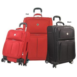 Olympia Primrose 3 piece Eight wheel Spinner Luggage Set
