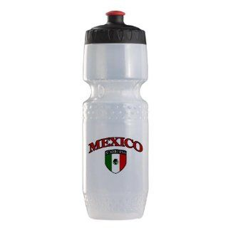Trek Water Bottle Clr BlkRed Mexico Numero Uno Mexican