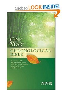 The One Year Chronological Bible [NIV] Tyndale  9780842350907