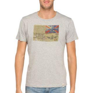 FRESH BRAND T Shirt Homme Gris chiné   Achat / Vente T SHIRT FRESH