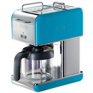 DeLonghi kMix 10 cup Blue Drip Coffee Maker