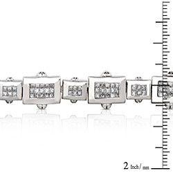 14k White Gold 5ct TDW Diamond Tennis Bracelet (G H, VS)