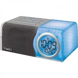 Timex T205W Color Changing Alarm Clock Radio with Bedtime