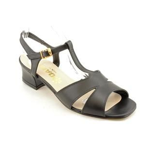 Daisy Womens Sylvie Leather Sandals   Wide