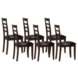 Springvale Wenge Wood Chairs (Set of 6)