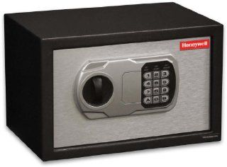 Honeywell 5102 Steel Security Safe, 0.31 Cubic Feet, Black with