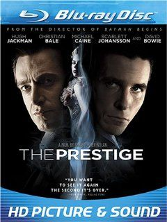 The Prestige [Blu ray] Christian Bale, Hugh Jackman