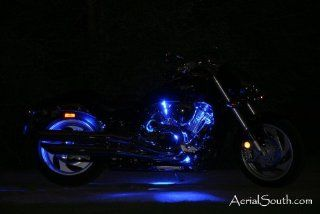 207 LED Multi Color Motorcycle Accent Light Kit w/16 Function Remote
