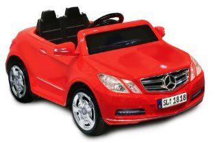Mercedes Benz E550 6V, Red Toys & Games