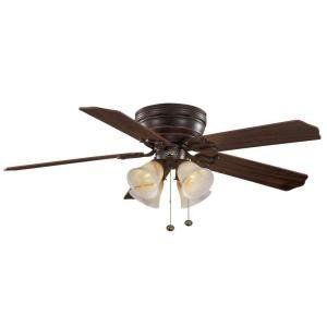 Hampton Bay Carriage House 52 In. Iron Indoor Ceiling Fan