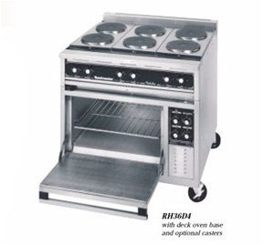 36 Electric Griddle Range, Convection Oven  208/240 Volt Appliances