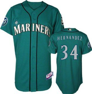 Seattle Mariners Authentic Felix Hernandez Alternate Cool
