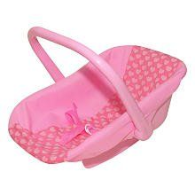 Baby Doll Car Seat Carrier Toys & Games
