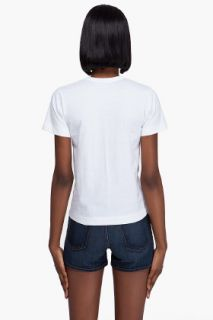 Comme Des Garçons Play  Cotton Jersey Heart T shirt for women