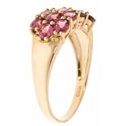 Yach 14k Yellow Gold Pink Tourmaline Fashion Ring