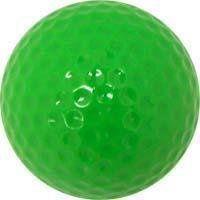 Mini Putt Golf Colored Golf Balls, Green   Sports Golf
